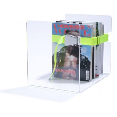 Bendix Magazine Rack | Neon Yellow