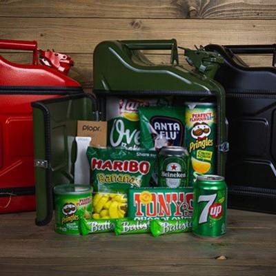 Geschenkpaket Jerrycan Bar 10 L | Grün