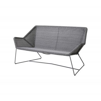 Outdoor 2 seater Sofa Breeze   Light Grey