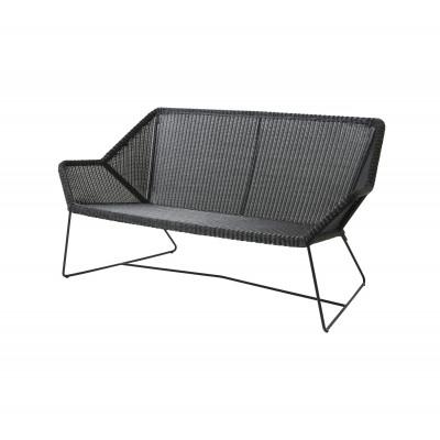 Outdoor 2 seater Sofa Breeze   Black