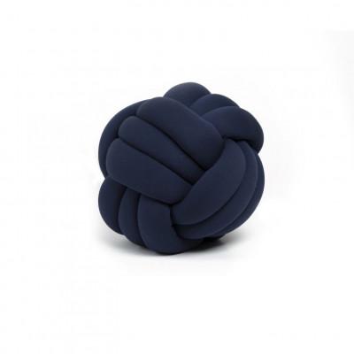 Dekorativer Kissenknoten | Marineblau