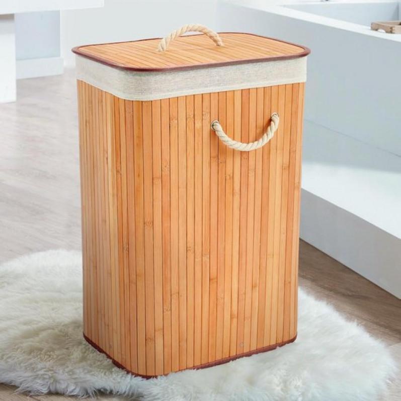 Faltbarer Wäschekorb | Quadratisch