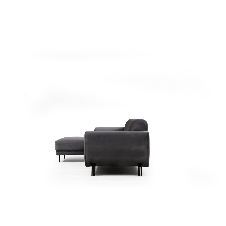Corner Sofa Image Left | Anthracite