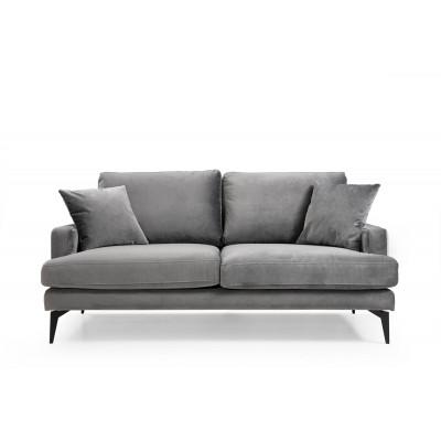 2-Sitzer-Sofa Papira | Grau