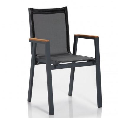 Outdoor-Stuhl | Grau