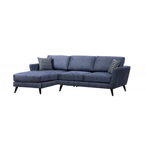 Corner Sofa Mayorka Small Left | Blue