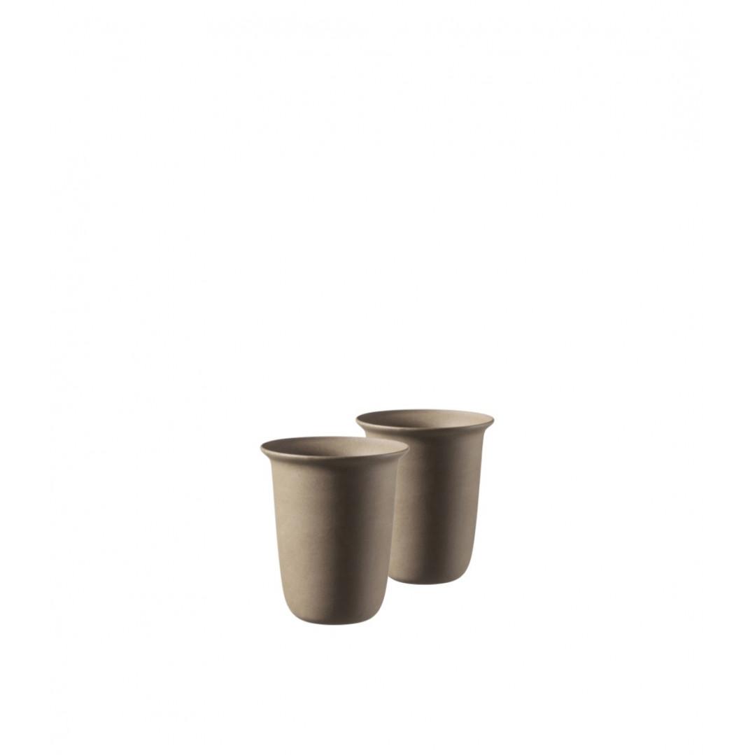 Set of 2 Ceramic Coffee Cups