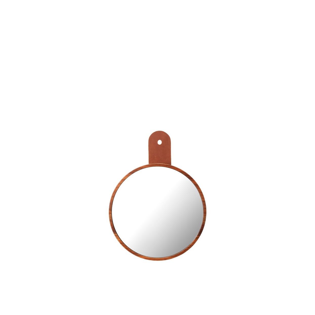 Mirror for Coat Hook Q5   Walnut