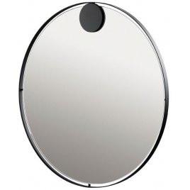 Wall Mirror Hooked | Black