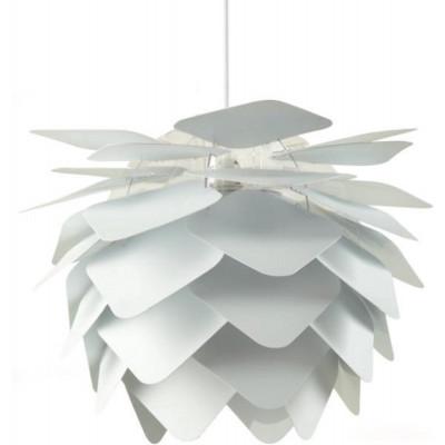 Pendelleuchte Ilumin 45 cm | Round Square | Weiß