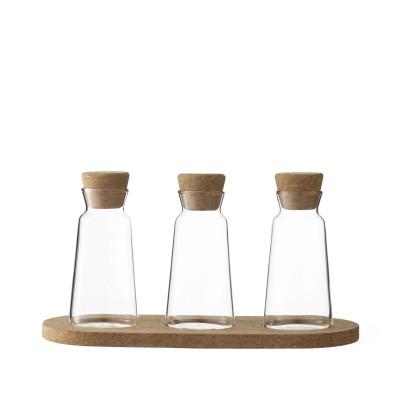 3er-Set Tee-Aufbewahrungsbehälter Cortica | 10 cl