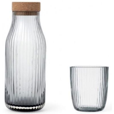 Christliche Wasserkaraffe + 2 Gläser