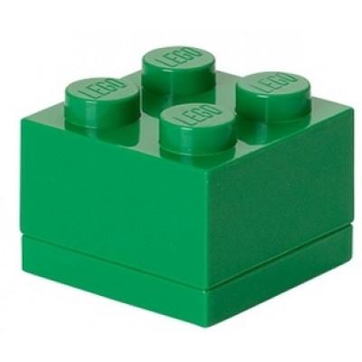 Aufbewahrungsstein 4 Mini   Grün