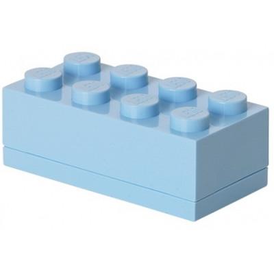 Aufbewahrungsstein 8 Mini   Pastellblau