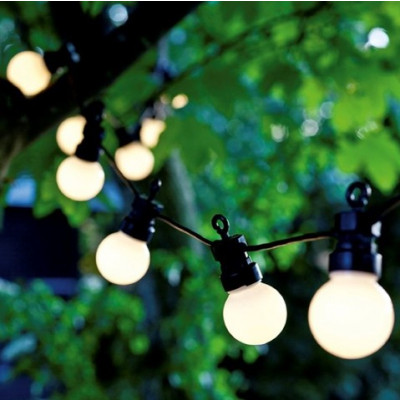 Supplementary String Light Lucas 10 Lamps | Frosted