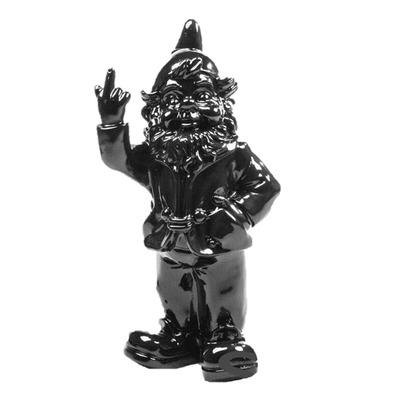Statue F*ck you Zwerg I Schwarz