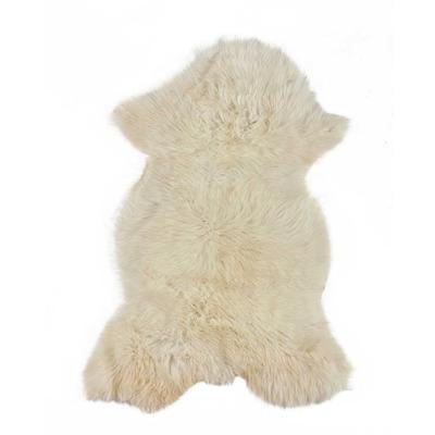 Sheepskin Natural White