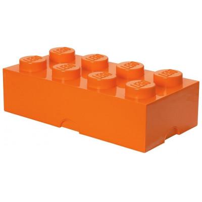Aufbewahrungsstein 8 X- Groß Orange