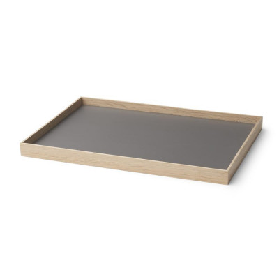 Tablett Rahmen Medium | Eiche-Grau