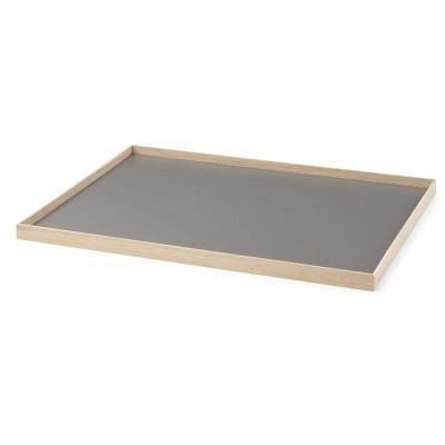 Tablett Rahmen Large | Eiche-Grau