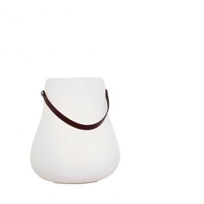 Blumentopf mit RGB-Beleuchtung und Lautsprecher groß