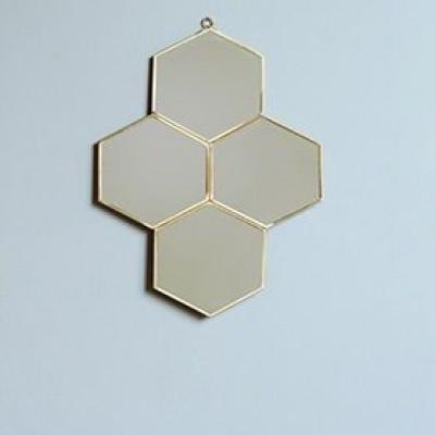 Spiegel 4 Hectagons