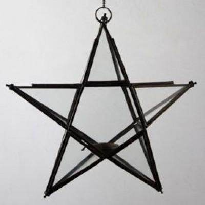 Lampion Großer Stern zum Hängen