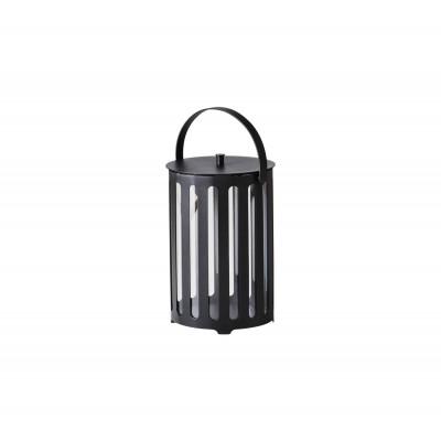 Round Lantern Lighttube | Alu Grey