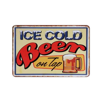 Wandschmuck | Ice Cold Beer
