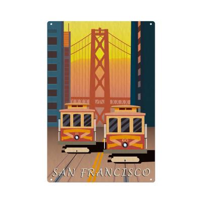 Wandschmuck | San Francisco