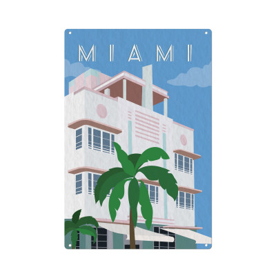 Wandschmuck | Miami