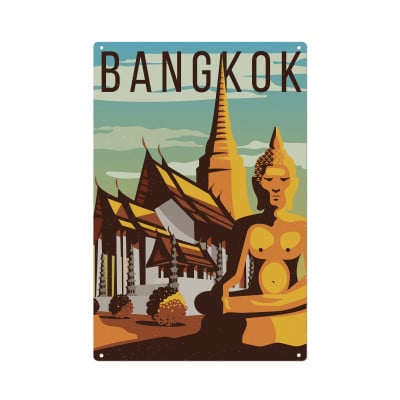 Wandschmuck | Bangkok
