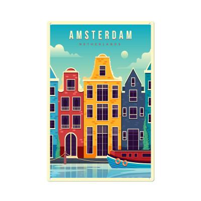 Wandschmuck   Amsterdam