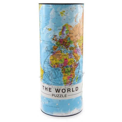 1000 Pieces Puzzle   The World