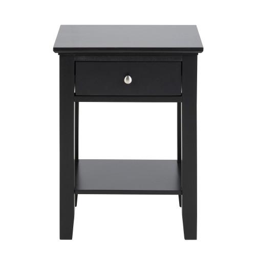 Bedside Table Linnea | Black
