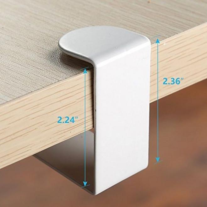 Unter Schreibtisch-Fuß-Hängematte | Schwarz