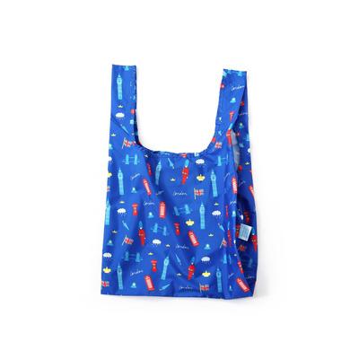 Wiederverwendbare Tasche London   Multicolour