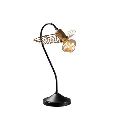 Tischlampe Angel | Schwarz/Gold