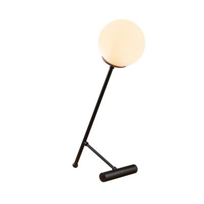 Tischlampe Golf | Schwarz/Weiß