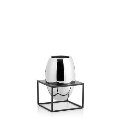 Vase mit Ständer Solero L   Klar
