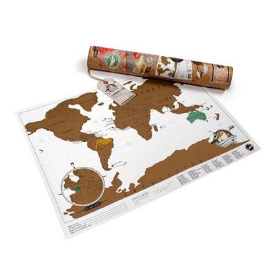 Reise-Rubbel-Karte