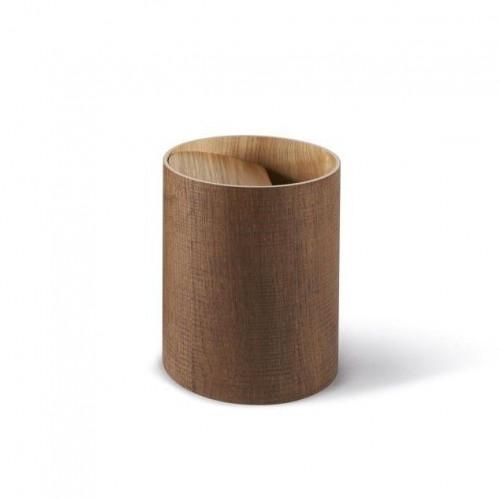 Arigatoe Riviera Waste Basket | Cinnamon Brown
