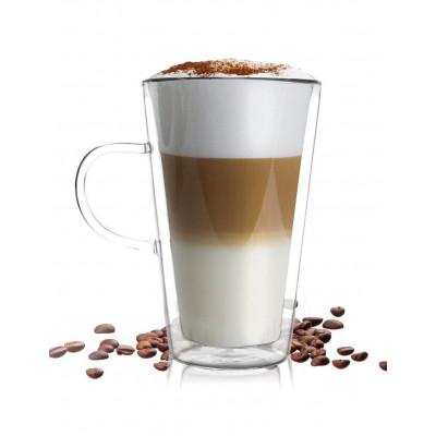 Latte Doppelwandiges Glas 320 ml | Amo