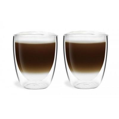 2-er Set Doppelwandige Espressogläser 320 ml | Amo