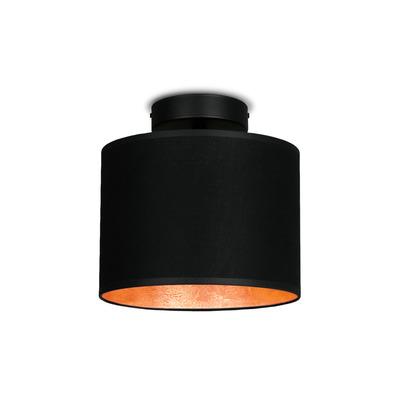 Deckenlampe  MIKA Elementary XS CP 1/C   Schwarz, Kupfer