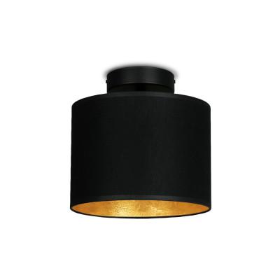 Deckenlampe MIKA Elementary XS CP 1/C   Schwarz/Gold