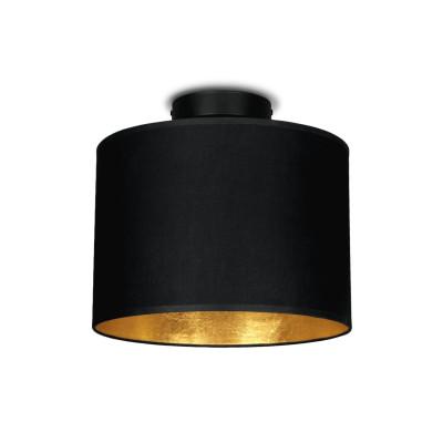 Deckenlampe MIKA Elementary S CP 1/C | Schwarz, Gold