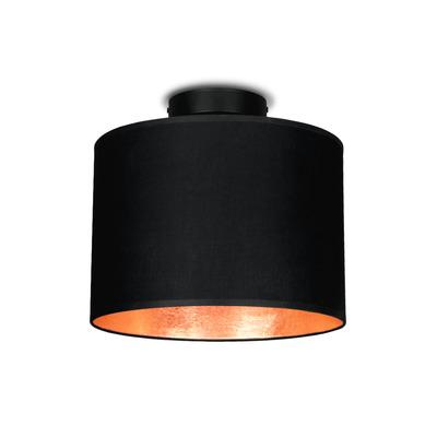 Deckenlampe MIKA Elementary S CP 1/C   Schwarz, Kupfer