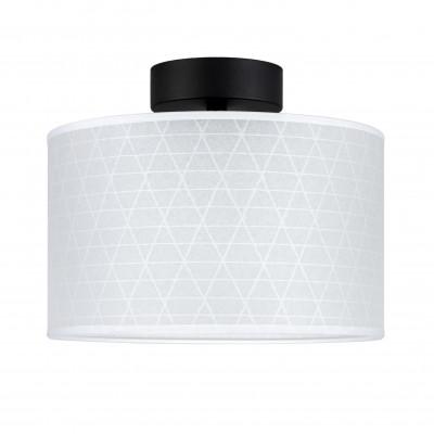 Deckenleuchte Taiko 1 CP | Schwarz/Weiße Dreiecke