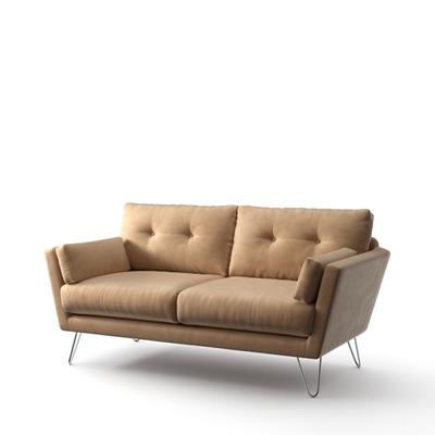 2-Sitzer-Sofa Tido   Sand